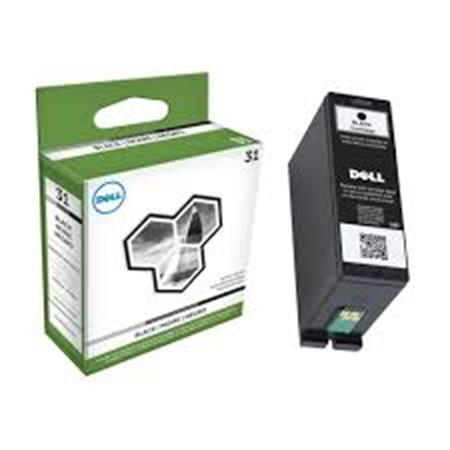 Dell 331-7689 (Series 31) Original Black Standard Capacity Single Use Ink Cartridge (V28CF)