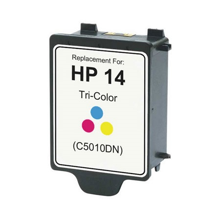 HP 14 TriColor Remanufactured Printer Ink Cartridge (C5010DN)