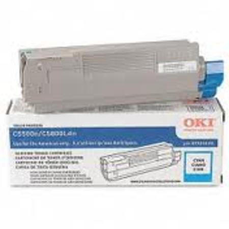 OKI 43381903 Cyan Original Standard Capacity Toner Cartridge