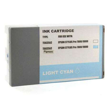 Compatible Light Cyan Epson T6035 Ink Cartridge (Replaces Epson T603500)