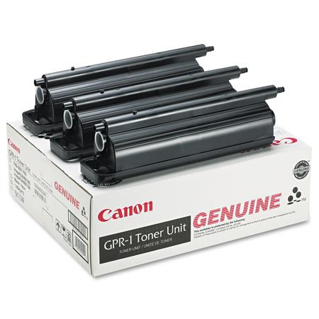 Canon GPR-1 (1390A003AA) Black Original Toner Cartridge - 3 PACK