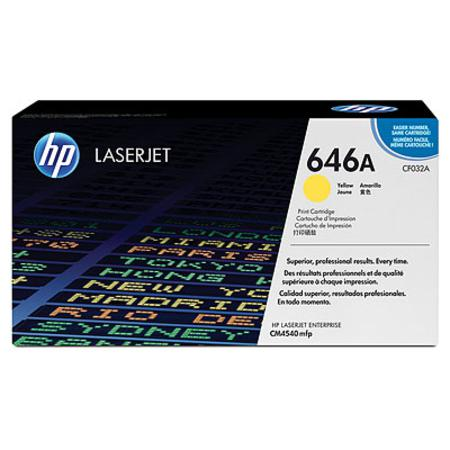 HP 646A Yellow Original Standard Capacity Toner Cartridge (CF032A)