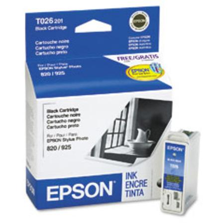Epson T026 (T026201) Original Black Ink Cartridge