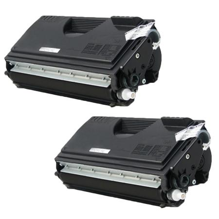 Clickinks TN560 Black Remanufactured Toners Twin Pack