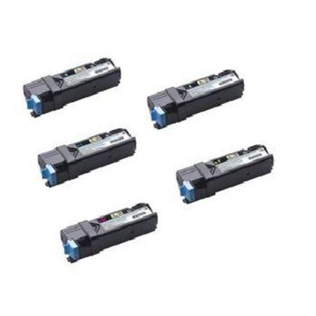 Compatible Multipack Dell 331-0719/331-0716/18  Full Set + 1 EXTRA Toner Cartridges