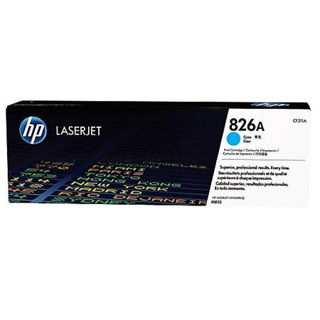 HP 826A Cyan Original Toner Cartridge (CF311A)