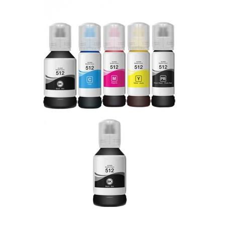 Compatible Multipack Epson T5120/24 Full Sets + 1 EXTRA Black Ink Bottles