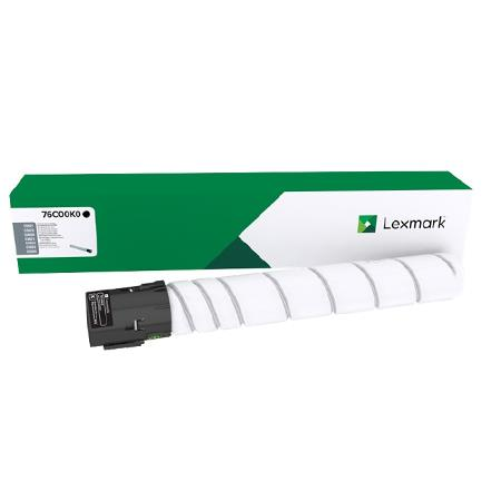 Lexmark 76C00K0 Black Original Standard Capacity Toner Cartridge