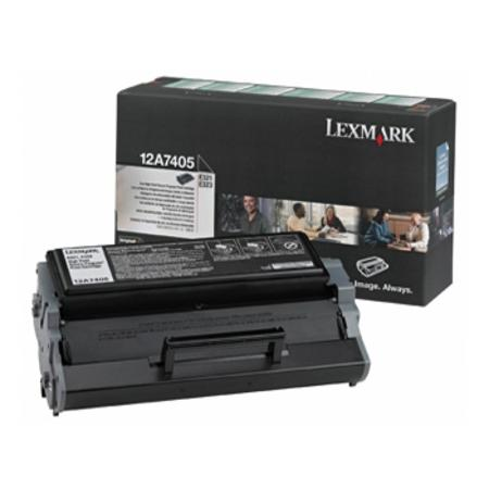 Lexmark 12A7405 Original Black Toner Cartridge