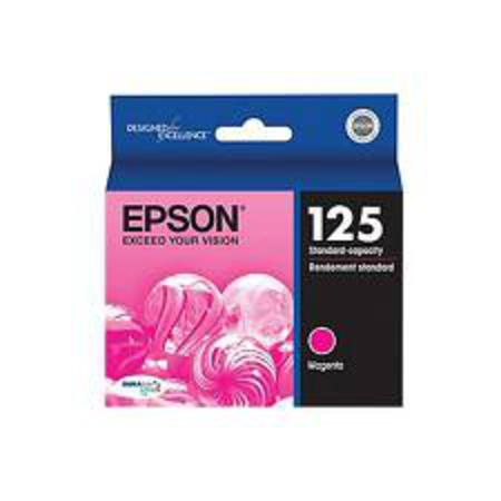 Epson 125 Magenta Original Standard Capacity Ink Cartridge