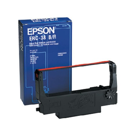 Epson ERC38BR Black/Red Original Ribbon Cartridge