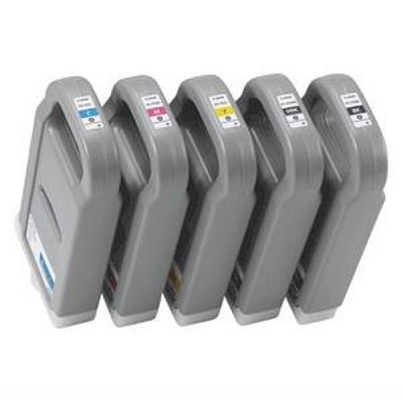 Compatible Multipack Canon PFI-703 BK/MBK/C/M/Y Full Set + 2 EXTRA Black Inkjet Cartridges
