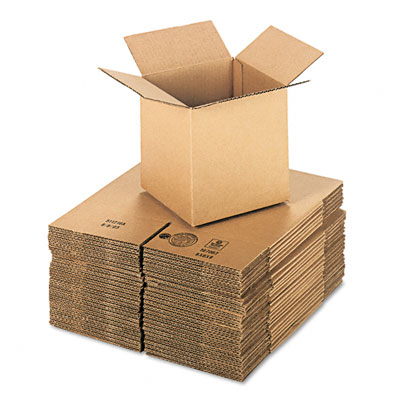 Universal Corrugated Kraft Shipping Carton 8w x 8l x 8h Brown 25 per Pack
