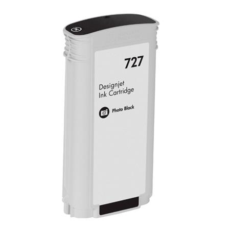 Compatible Photo Black HP 727 High Yield Ink Cartridge (Replaces HP B3P23A)