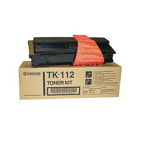 Kyocera Mita TK-112 Black Original Toner Cartridge