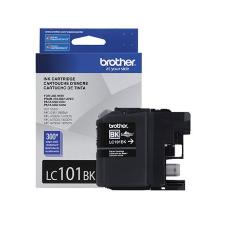Brother LC101BK Black Original Standard Capacity Ink Cartridge