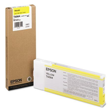 Epson T6064 Original Yellow High Yield Ink Cartridge