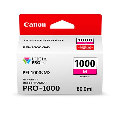 Canon PFI-1000M Magenta Original Ink Cartridge (0548C001)