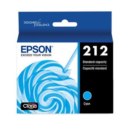 Epson 212 (T212220) Cyan Original Standard Capacity Ink Cartridge