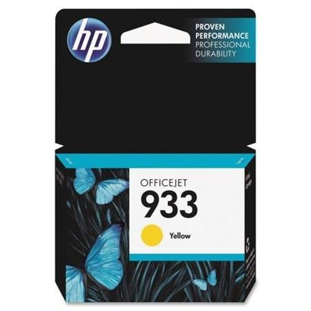 HP 933 Yellow Original Standard Capacity Ink Cartridge (CN060AN)