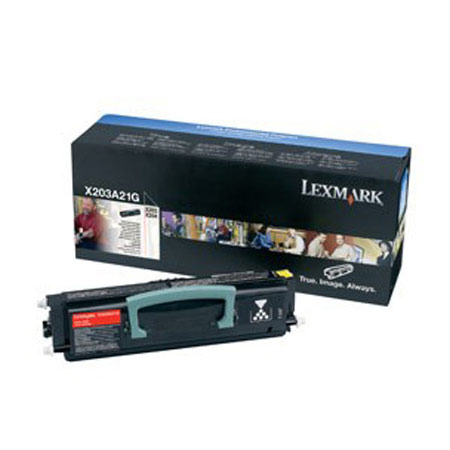 Lexmark X203A21G Black Original Laser Toner Cartridge