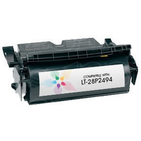 IBM 28P2494 Black Remanufactured Micr Infoprint Toner Cartridge