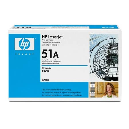 HP LaserJet 51A (Q7551A) Original Black Toner Cartridge