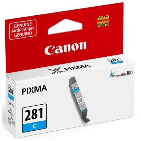 Canon CLI-281C Cyan Original Standard Capacity Ink Cartridge