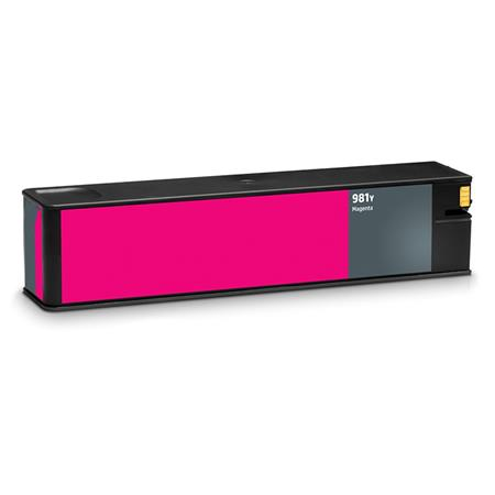 HP 981Y (L0R14A) Magenta Remanufactured Extra High Capacity Ink Cartridge