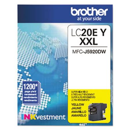 Brother LC20EY Yellow Original Print Cartridge