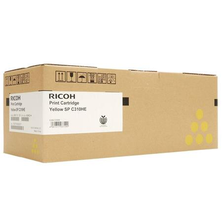 Ricoh 407898 Yellow High Capacity Toner Cartridge