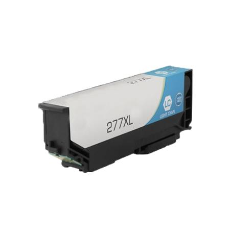 Epson 277XL (T277XL520) Light Cyan Remanufactured High Capacity Ink Cartridge