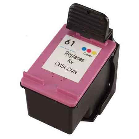 HP 61 Tri-Color Remanufactured Ink Cartridge