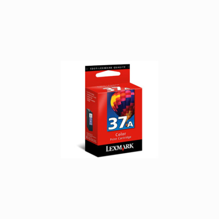 Lexmark No. 37A (18C2160) Color Original Print Cartridge