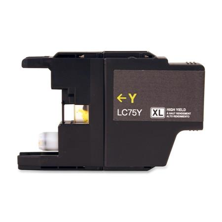 Brother LC75Y Compatible Yellow High Yield Cartridge