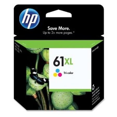 HP 61XL Tri-Color Original High Yield Ink Cartridge