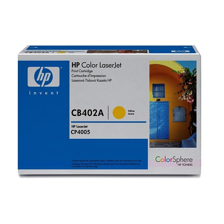 HP Color LaserJet CB402A Original Yellow Toner Cartridge