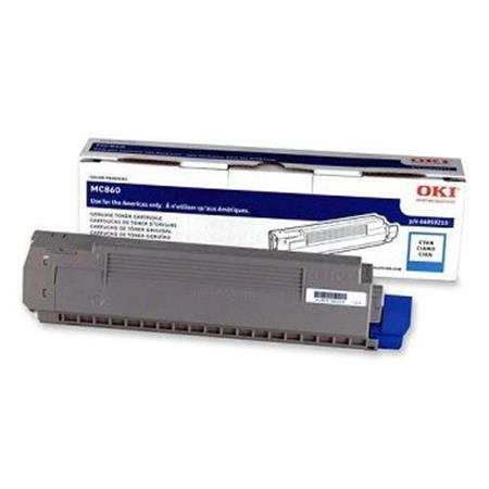 OKI 44059215 Cyan Original Standard Capacity Toner Cartridge