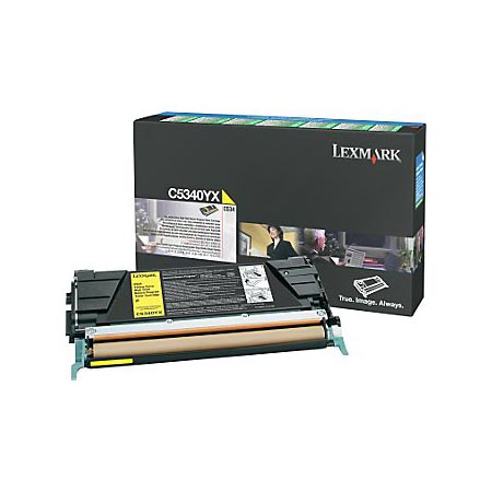 Lexmark C5340YX Original Yellow Extra High Yield Laser Toner Cartridge