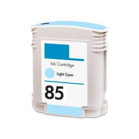 HP 85 Light Cyan Remanufactured Inkjet Cartridge (C9428A)