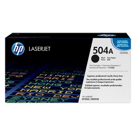 HP CE250A Original Black Standard Capacity Toner Cartridge