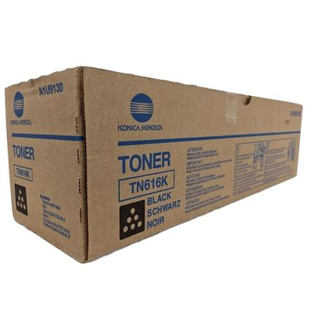 Konica Minolta TN616K Black Original Toner Cartridge (A1U9130)
