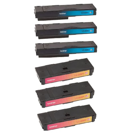 Compatible Multipack Brother LC03BK/C/M/Y 3 Full Sets Ink Cartridges