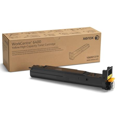 Xerox 106R01319 Yellow Original High Capacity Toner Cartridge