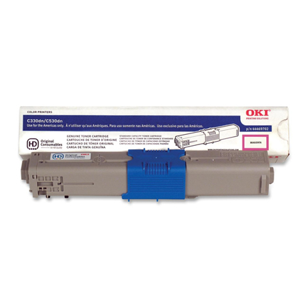 OKI 44469702 Magenta Original Toner Cartridge