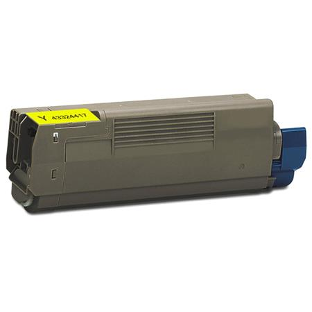 OKI 43324417 Remanufactured Yellow Toner Cartridge