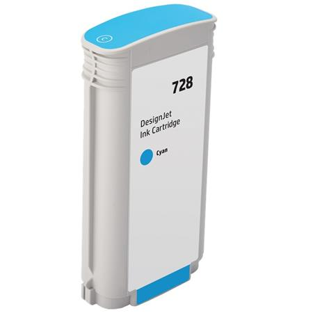 Compatible Cyan HP 728 High Yield Ink Cartridge (Replaces HP F9J67A)