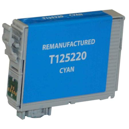 Epson 125 Cyan Remanufactured Standard Capacity Ink Cartridge