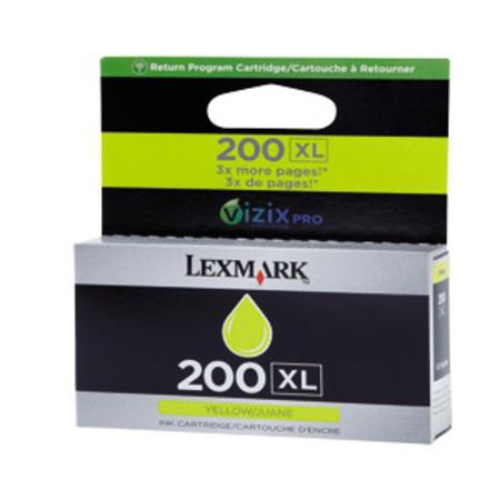 Lexmark No.200XL (14L0177) Original Yellow High Yield Return Program ink Cartridge
