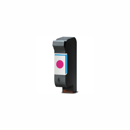 HP 40 Magenta Remanufactured Printer Ink Cartridge (51640M)